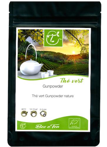 Thé vert bio - Gunpowder Nature